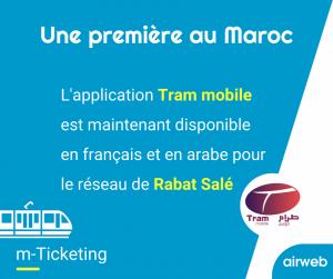 nouvelle application à Rabat Salé